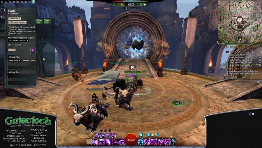 Let's Play Guild Wars 2 WvW with Gaiscioch [GSCH]
