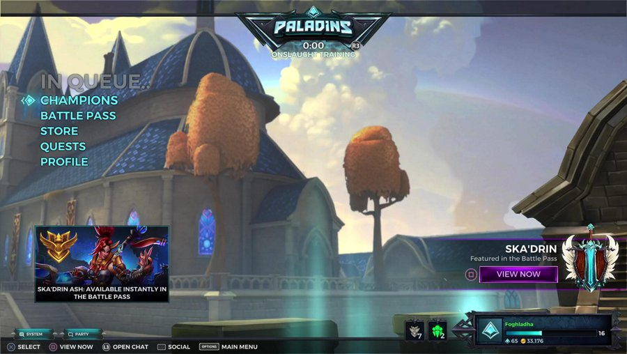 Let's Play Paladins on PlayStation Adventures