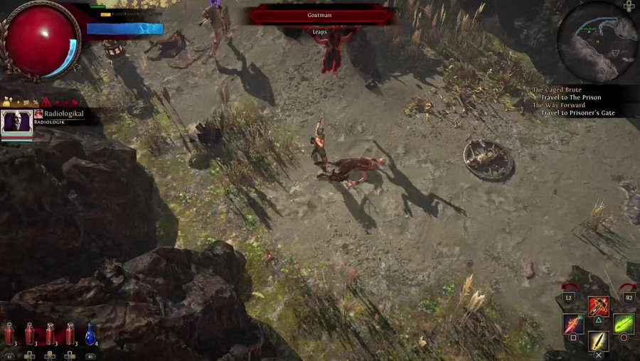 Act 1: Part 2: Path of Exile on PlayStation Adventures
