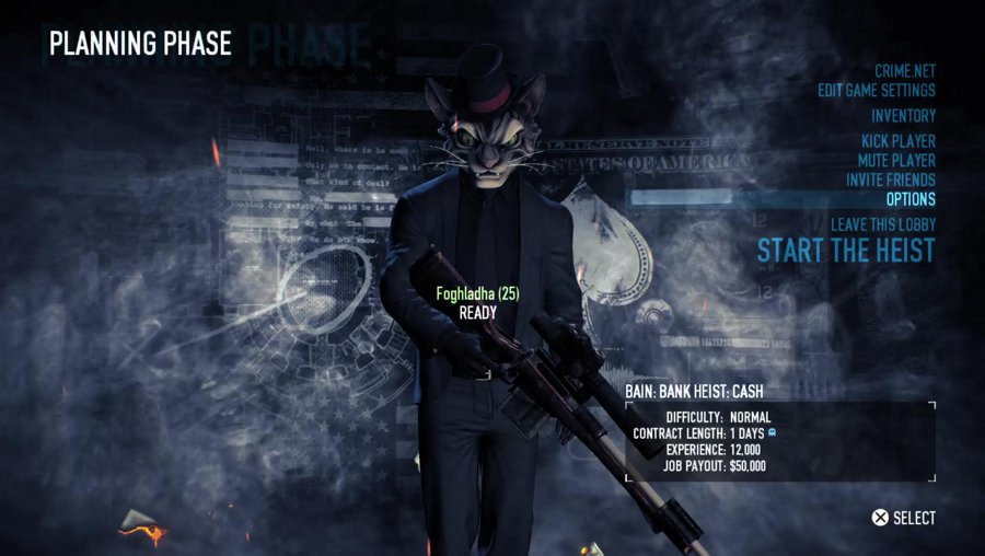 Payday 2 with Gaiscioch on PlayStation Adventures