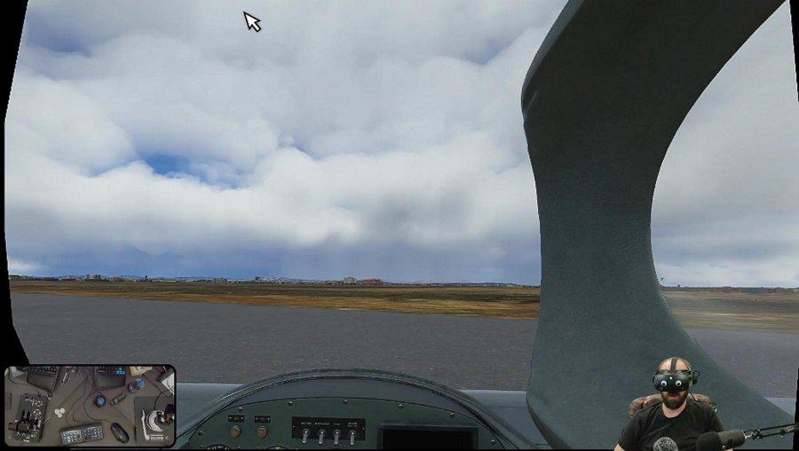 MSFS2020 - VR - Around the World - Model 61 Long-EZ - Reverb G2 -  FlightSimTrack