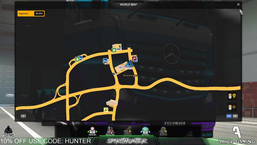 [PC ] Driving, Haulin, Cargoing, Freighting, That kind of thing.