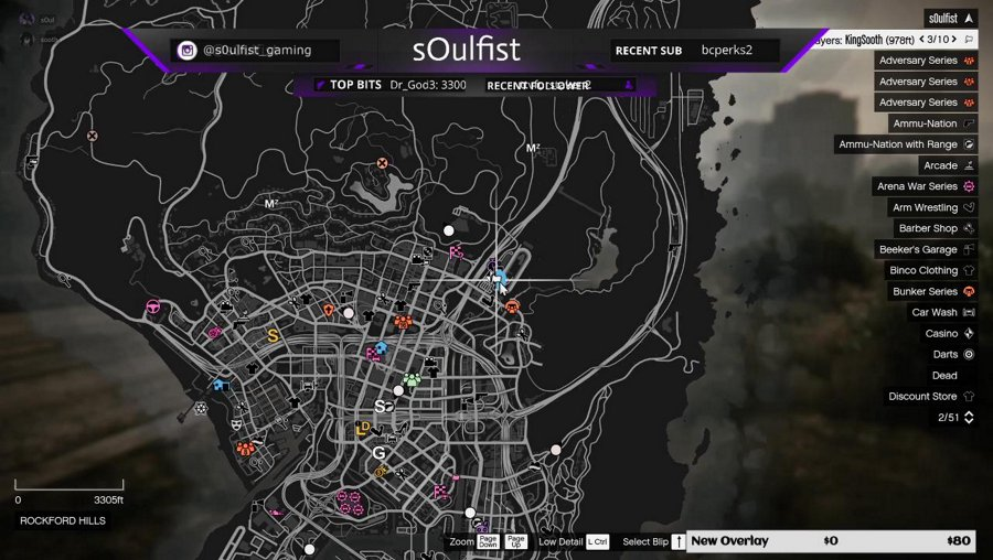 Messing around in GTA -Almost to 300 followers! 💜💜