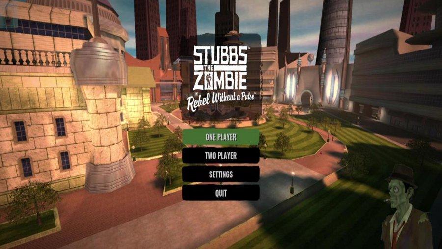 Stubbs The Zombie Plays Stubbs The Zombie