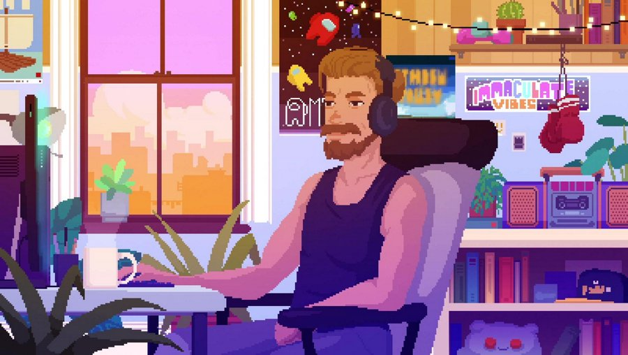 Shirtless Dave Plays Games // !twitter - @br00dgames