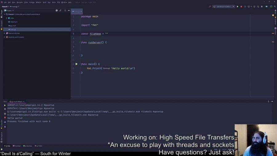 [Go] High-Speed File Server