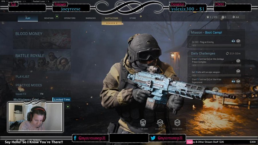 COD:Warzone! Come By & Say Hey.. Road To #TwitchAffiliate.