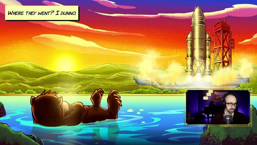 OTTER SPACE [Space Otter Charlie]