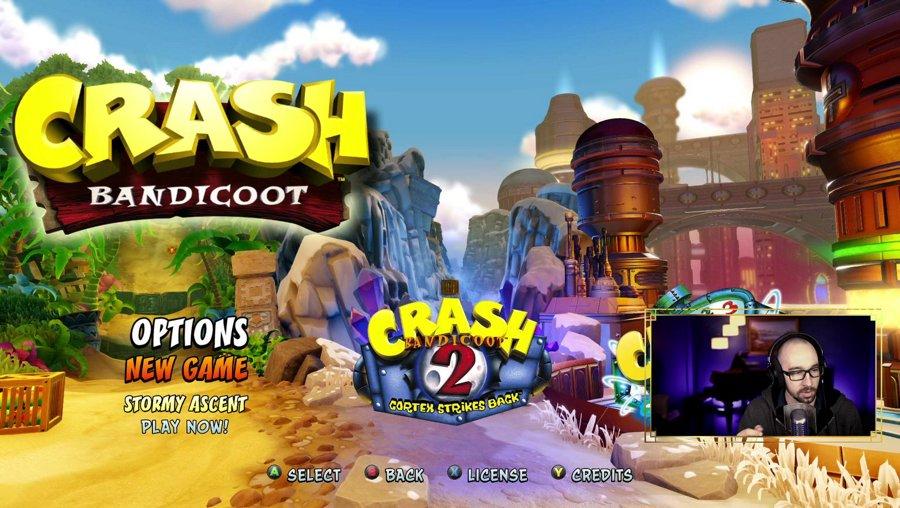 Blast from the past! [Crash Bandicoot]