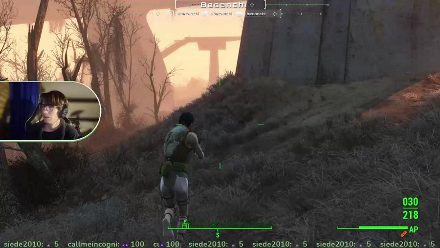 [EN/NL] Fallout 4 letsplay with new cam overlay and tts = on