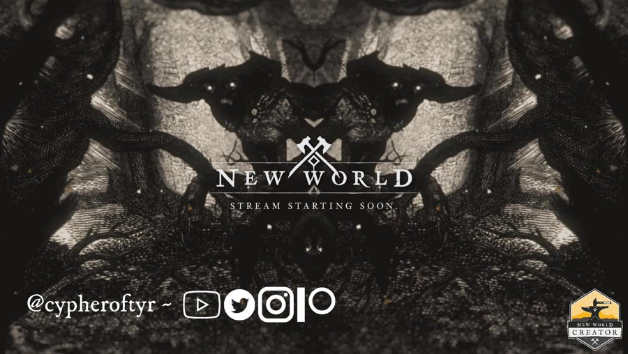 Aeternum never sleeps, and neither do I apparently. So let's run around for a bit to start the day. #PlayNewWorldMMO #Ad