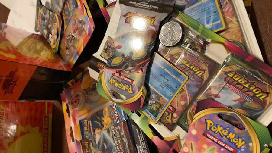 Quick stream opening up a couple Vivid voltage packs