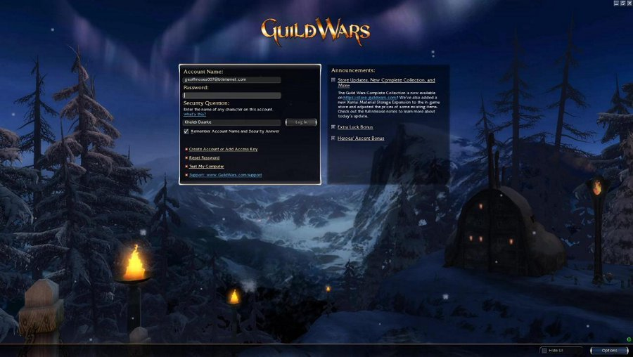 Friday Night is Guild Wars Night!