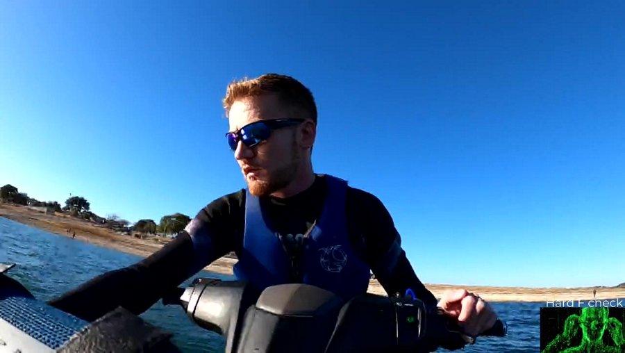 Jet ski stream #3, new angle - Austin tx