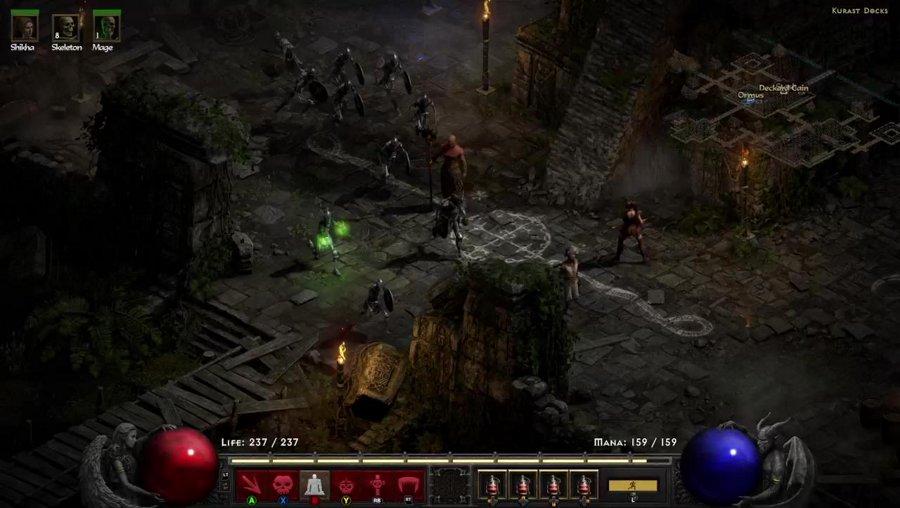 The First quest in Kurast Diablo 2 Resurrected full guide walkthrough