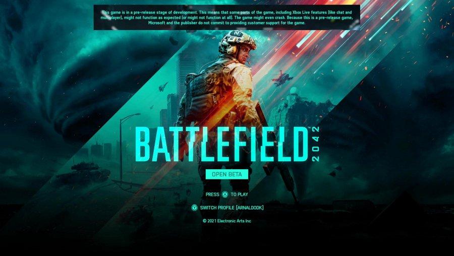 Battlefield 2042 - Conferindo o BETA no Xbox Series X