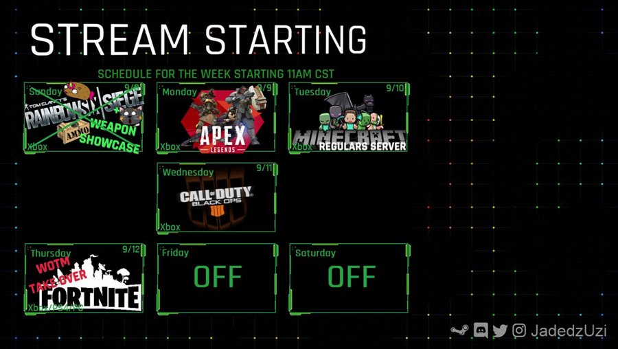 (Xbox) Armed & Not so Dangerous !play - Twitter @JadedzUzi #TheArmory