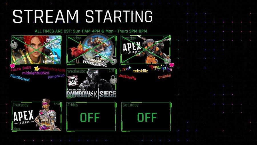 (Xbox) BOOSTED No Mains Stream - !onyx #BLM #SAH #MaskUp #TheArmory