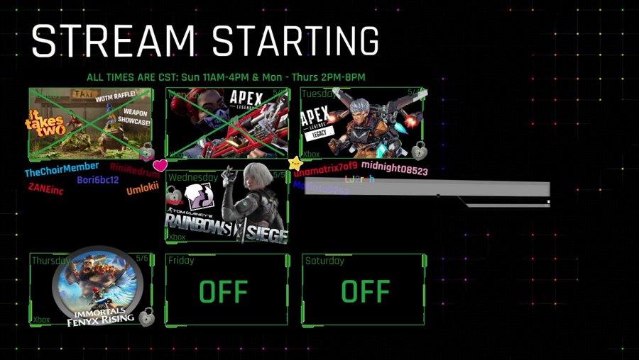 (Xbox) BOOSTED LEGACY & ARENA o.O - !onyx #BLM #SAH #MaskUp #TheArmory
