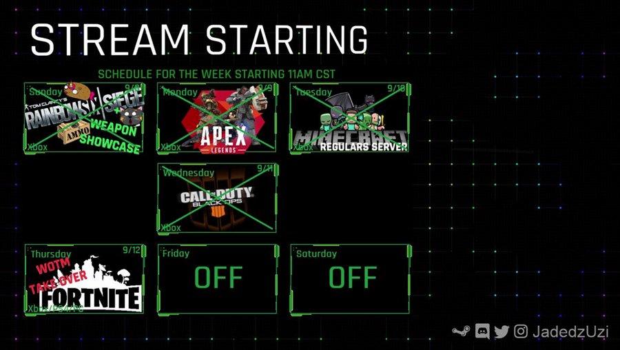 (Xbox) Iceman's WOTM TAKE OVER (movie night after) - Twitter @JadedzUzi #TheArmory