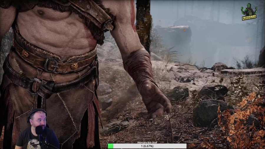 PS5 God of War Frirst time trying it!! #TRWfam
