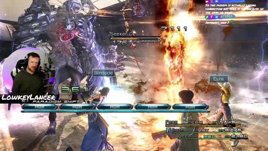 !blind | Let's Listen: Final Fantasy 13 | Day 15 (Chapter 11)
