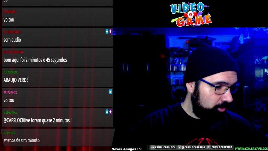 CAPSLIVE - VIDEO VS GAME  AO VIVO !!