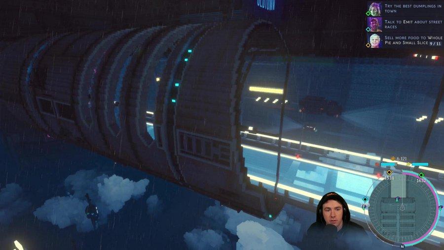 City of Ghosts [Cloudpunk DLC] (PC)