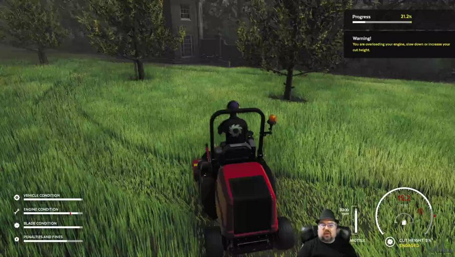 Lawn Mowing Simulator - (LIVE) - Just Chillin'!