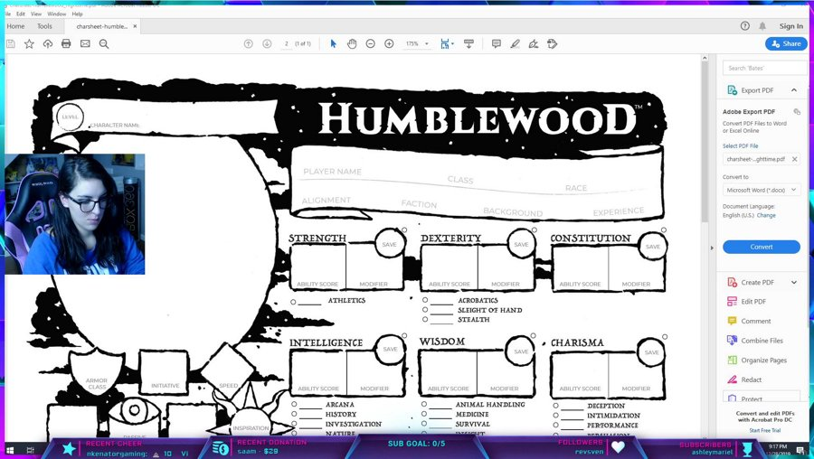 Session 0 - Character Creation, Humblewood with Ichibadass, Maddawgmike and Kryzikal