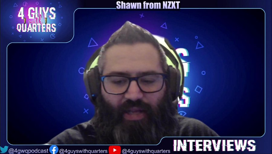 4GQTV Special Interview with Shawn Borsky VP of Design #NZXT
