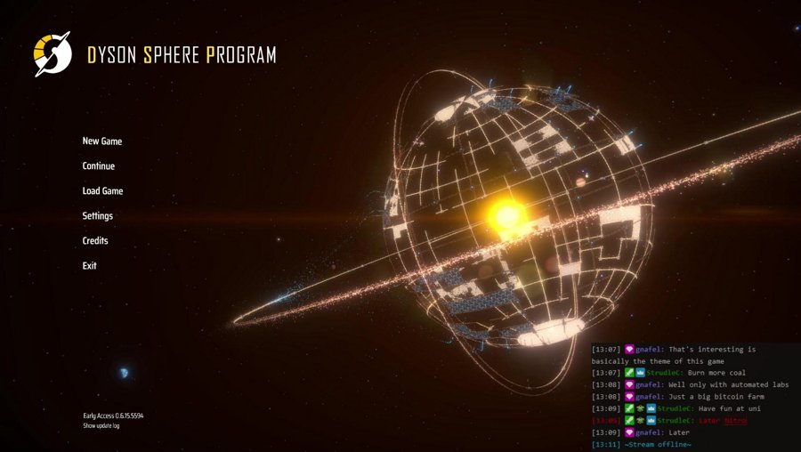 Another Short Dyson Sphere Stream