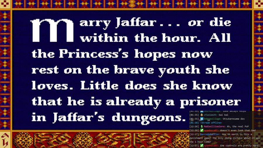 Punishment: Prince of Persia