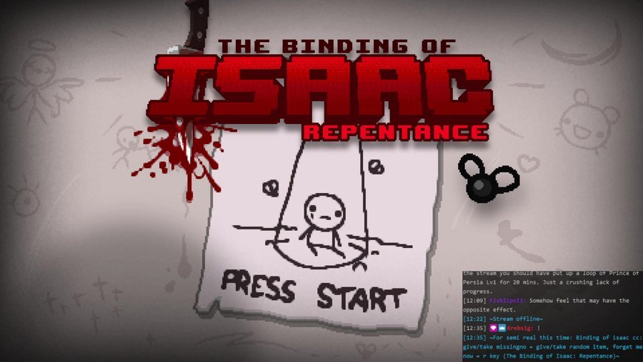 For semi real this time: Binding of isaac cc: give/take missingno = give/take random item, forget me now = r key
