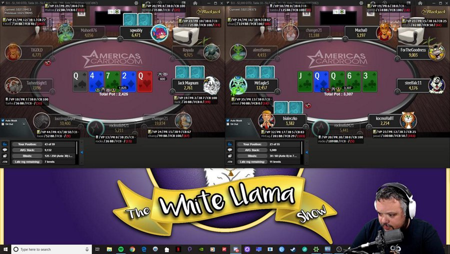 Poker?  I Don't Even Know Her! | !delay | !social | !discord