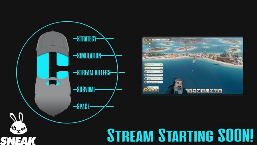 Drops & New ANNO DLC, later new Troy DLC -- !store !sneak -- Twitter: @cringer63