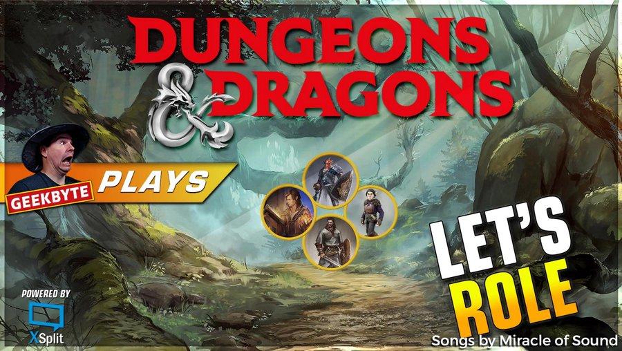 D&D // Let's Role - Beginner Group  // 1080p