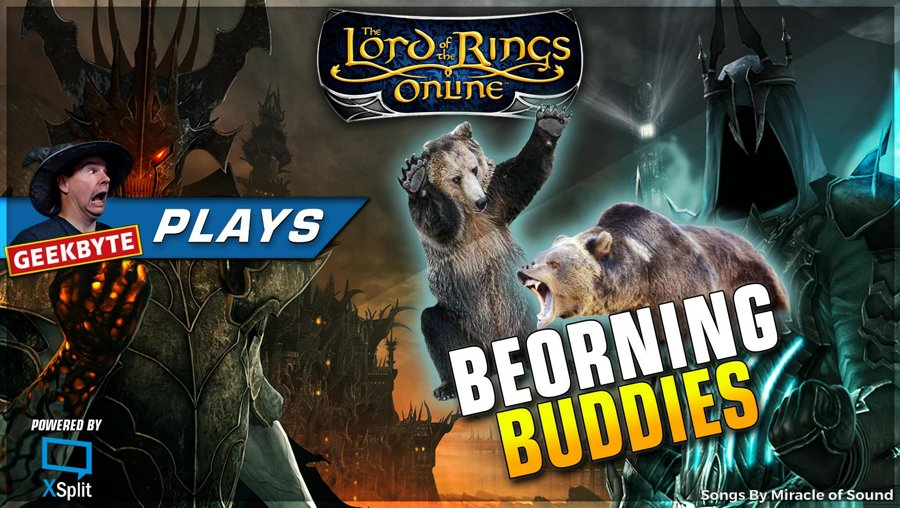 LOTRO // Back like a bad smell - Beorning Buddies // 1080P