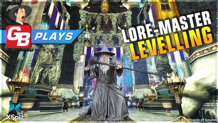 LOTRO // Lore-master Levelling // 1080P