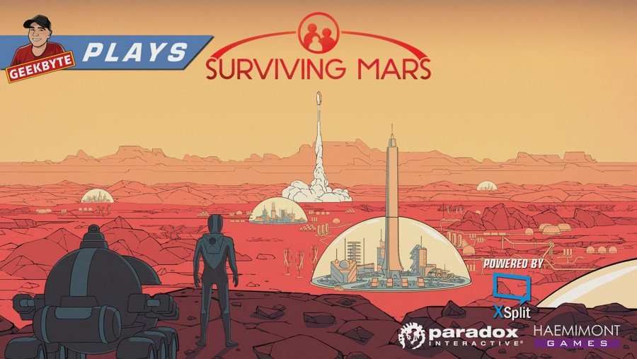 Surviving Mars // Full HD // 60 FPS // First Play