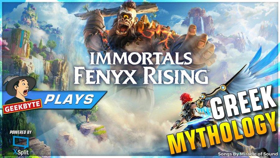 Immortals Fenyx Rising // Greek Mythology // 1080P