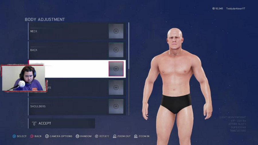 Creating a wrestler and playing some matches! SPA/ENG