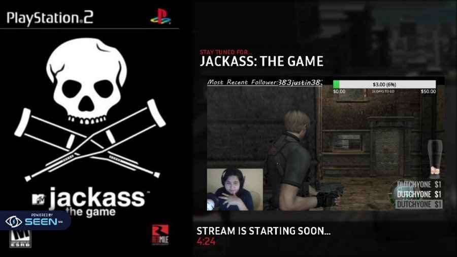 Hi I'm Teddy and welcome to Jackass! SPA/ENG