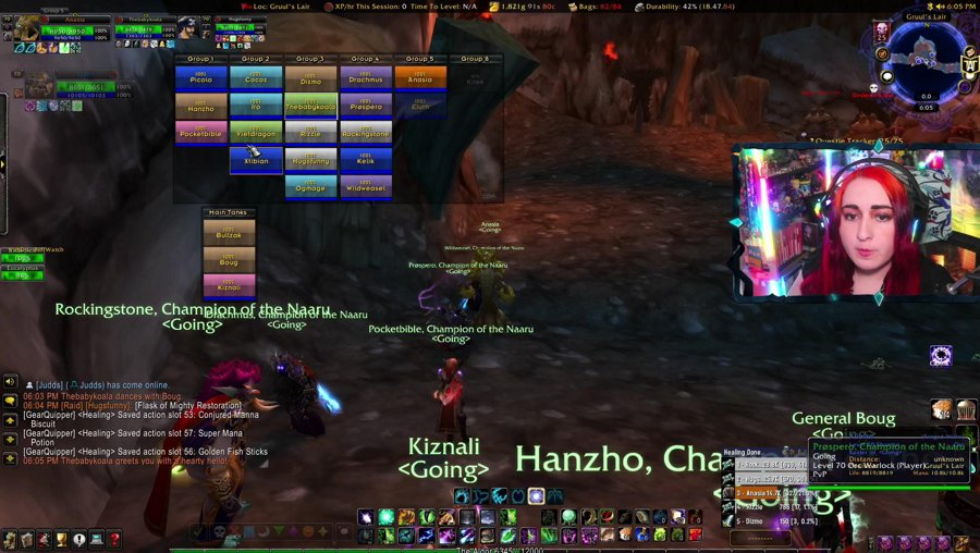 Week 2 Healing in SSC , Will we Get Past 4 Bosses? // TBC Classic // I'm a Tree