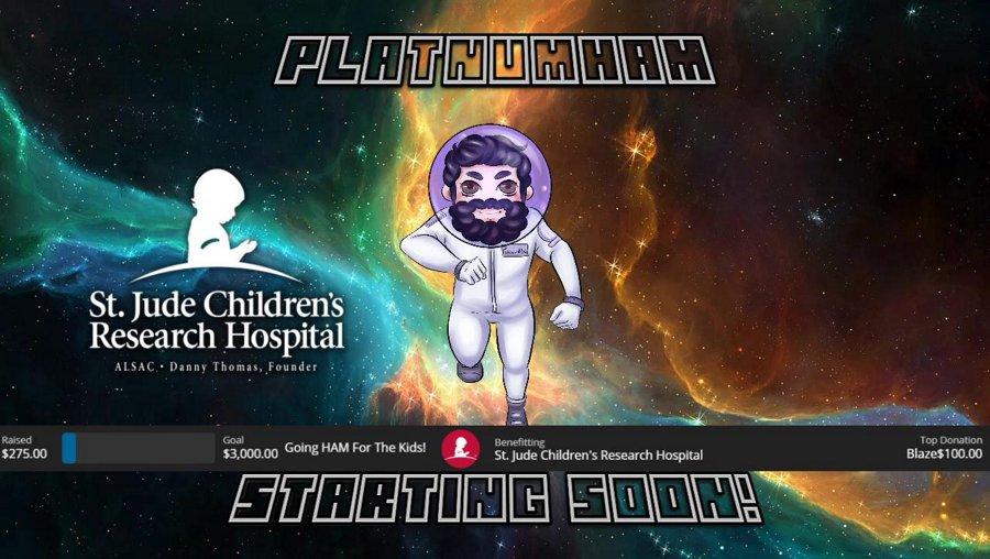 !ctt !stjude !donate | MINING OUR OWN BUSINESS. | @PlatnumHam on Socials