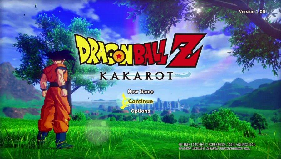 Dragon Ball Z : Kakarot Playthrough