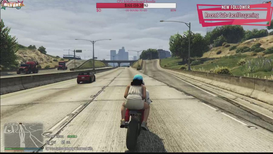 TwitchRP  | New to town Tandy Shaw|  Sub Wall | Thatsoalykat.com |