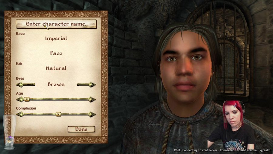Amaya plays The Elder Scrolls IV: Oblivion