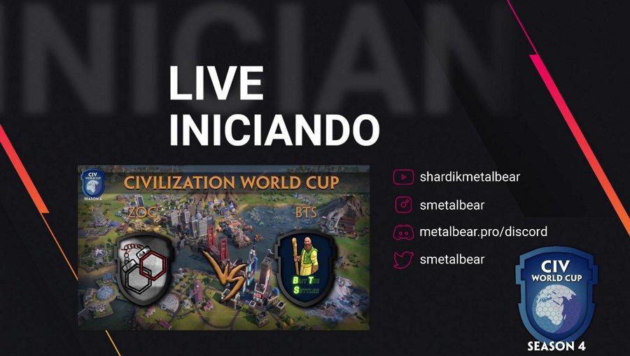 Zoc vs BTS | !cwc Camp Mundial de Civilization