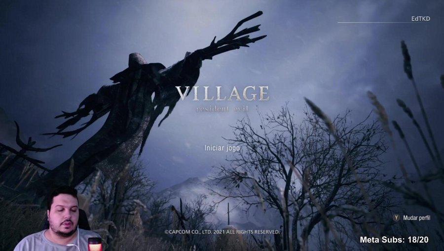 [+18] RE Village - Live mais vazia que o Villarejo | !sorteio | !gt | !sub | !discord | !lurk